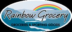 Rainbow Grocery & Sporting goods Logo